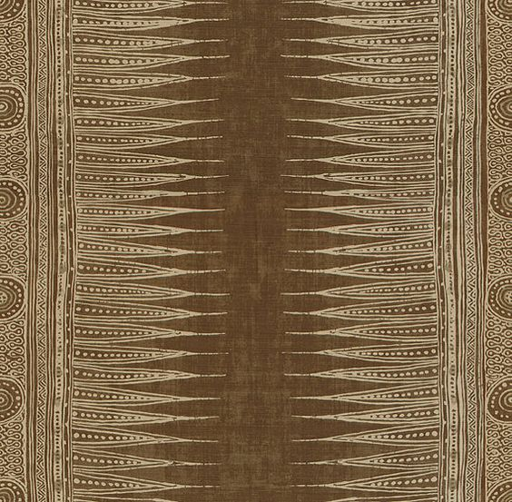 lee jofa kravet indian zig zag ethnic chic linen fabric 10 yards light brown beige brown linen fabric lighting