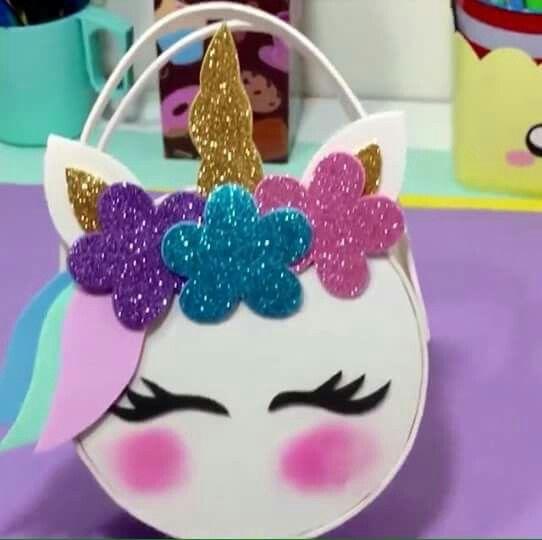 Carterita De Fomi Lindo Unicornio Es Nina Pinterest Unicorn
