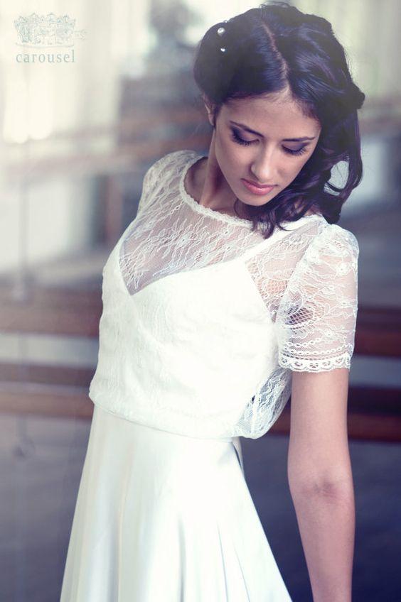 Hochzeitskleid/Brautkleid lang / / Amelie / / 2 von CarouselFashion