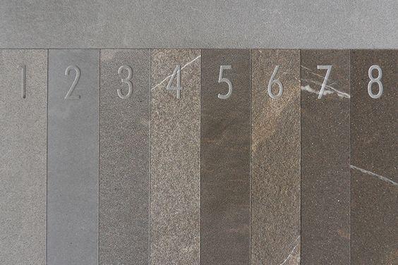 dettaglio delle 8 superfici #Piasentina millimetri4