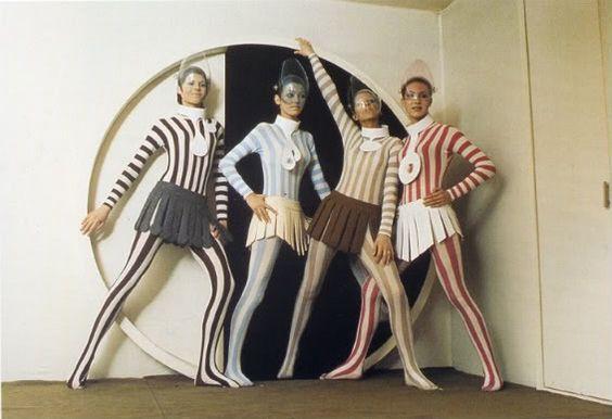 Pierre Cardin's Cosmocorps line, 1960s