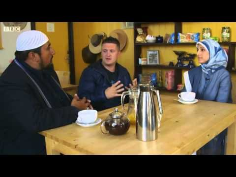 """youtube copy of """"Quitting the EDL: When Tommy Met Mo"""" (45min vid) tells story of Tommy Robinson conversion by Mohammed Ansar."""