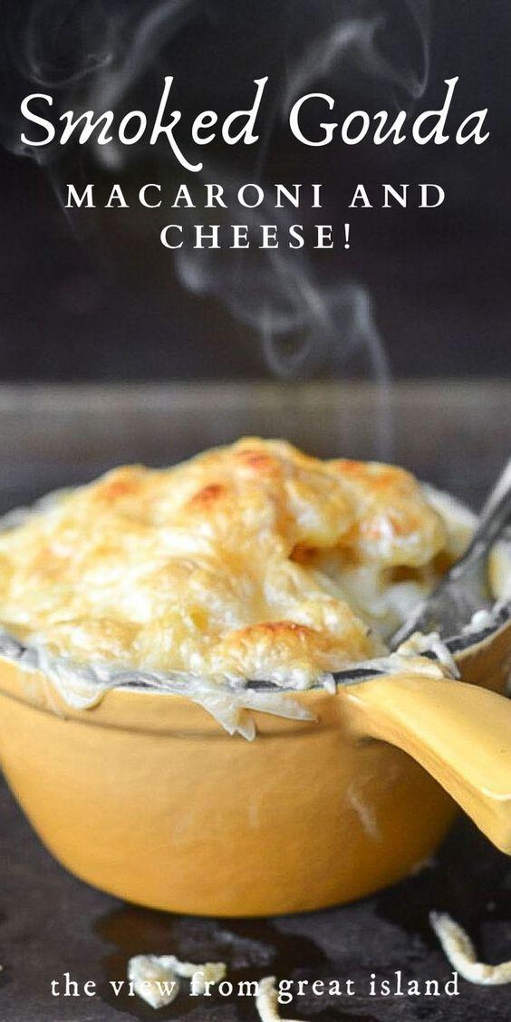 Smoked Gouda Macaroni and Cheese!