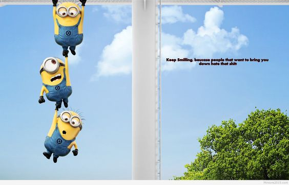 Funny and cute minions words