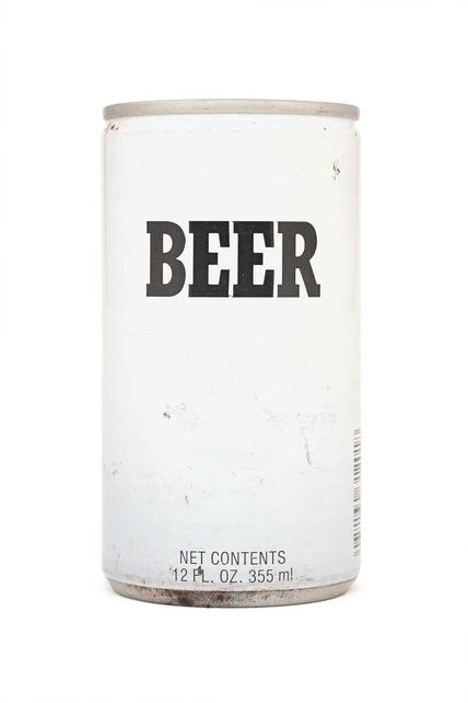 Typeverything.com    Minimalist Beer Can.    (Source: beautifulanduseful)