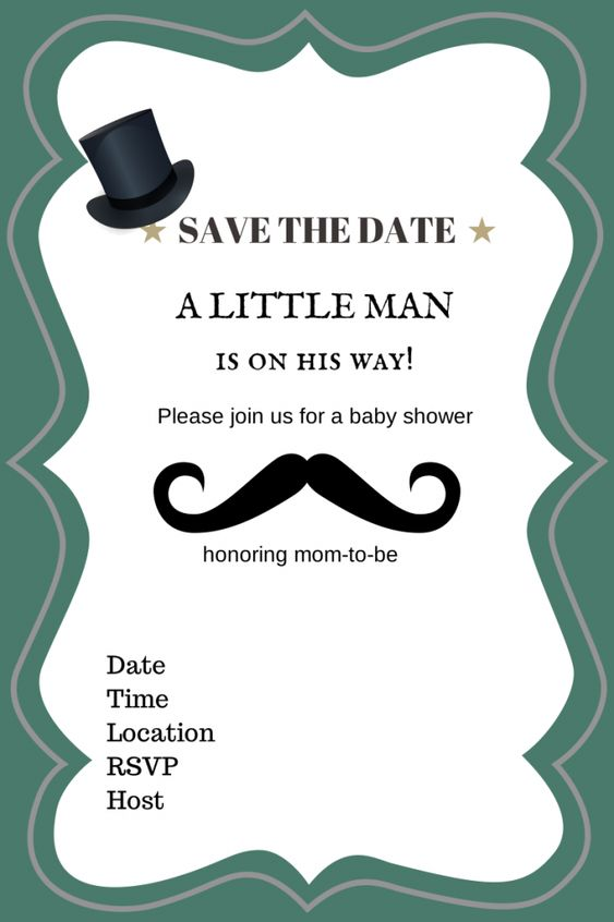 man baby shower mustache baby shower theme boy baby shower invitations