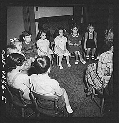 1942 Photo New York, New York. Marie's Sunday school clas...