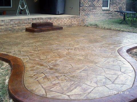 Stamped Concrete Ideas Stamped Concrete Patio Designs Concrete
