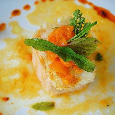 Bacalao fresco con malanga lila majada salsa fr a de - Bacalao fresco con tomate ...