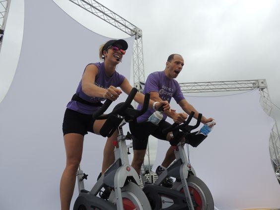 Confira as fotos da Aula de Bio Bike no Heliponto!