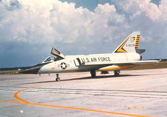 58-0791.from 460th FIS Grand Forks AFB ND. Phot taken by MacSorley at the 1972 William Tell Meet.