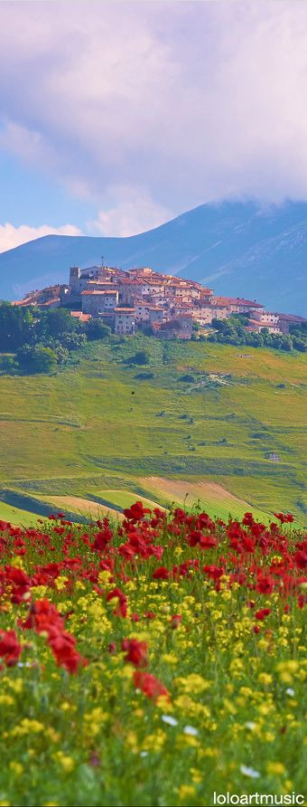 Castelluccio di Norcia, ITALY Perugia Umbria