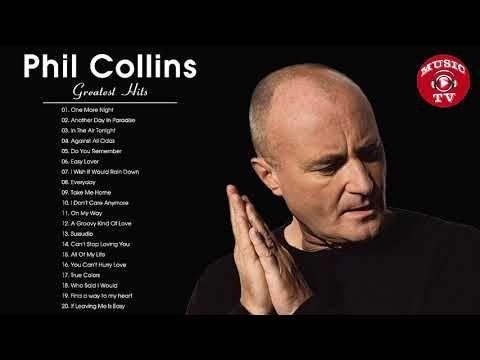 Phil Collins Maiores Sucessos Melhores Cancoes De Phil Collins Youtube
