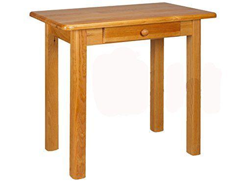 Esstisch mit Schublade Küchentisch Tisch Kiefer massiv Restaurant - küchentisch mit schublade