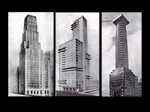 Chicago tribune building walter gropius house