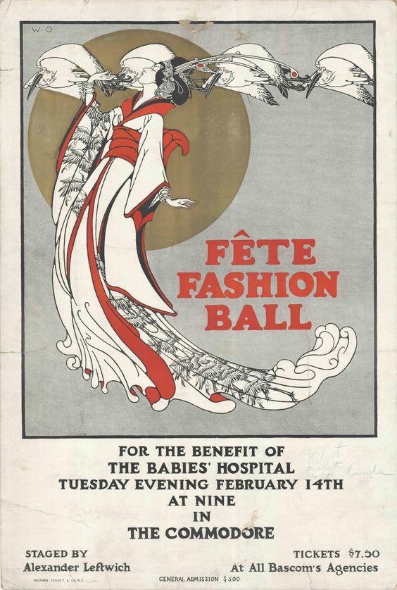 """""""Fête Fashion Ball"""" 1917"""