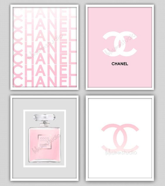 Wall Decor Print Chanel Chanel Print Modern by lulusimonSTUDIO, $55.00: