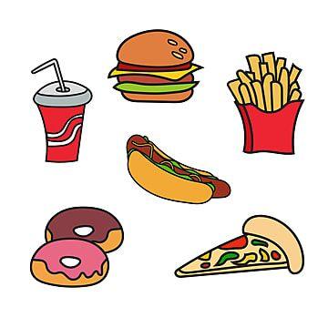 Conjunto De Comida Chatarra Doodle Dibujado A Mano Vector Garabatear Diseno Png Y Vector Para Descargar Gratis Pngtree In 2021 Junk Food How To Draw Hands Food Doodles