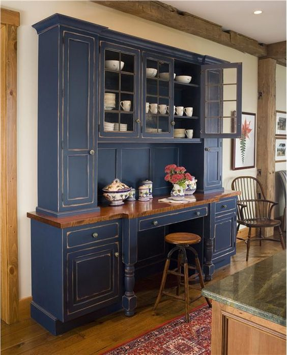 Country rustic country kitchen by wendy johnson love the for Kitchen cabinets johnson city tn