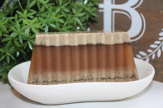 Cardamom Coffee Soap Cinnamon Coffee Soap by BathThymeBoutique