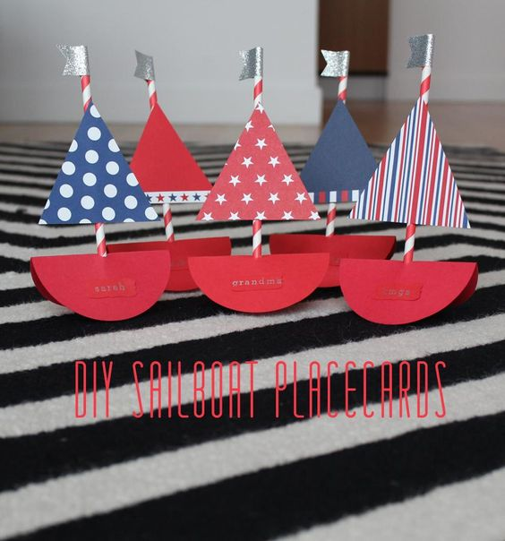 Sailboats diy and crafts and pirate birthday parties on for Ez craft usa vinyl