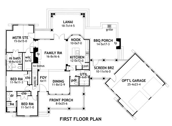 House Plan 9401 00004 Cottage Plan 1698 Square Feet 3