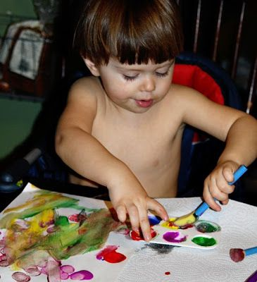 """~Krash is currently 33 months old~    For those of you who are new(er) readers (or unfamiliar with my background), I will briefly explain why I am titling this post """"Back to the Trays"""". You see, I have a passion for Montessori type learning, with a bit of a modern twist. I did an internship in a Montessori classroom while obtaining my early-childhood degree back in the day and I LOVED it. My tw..."""