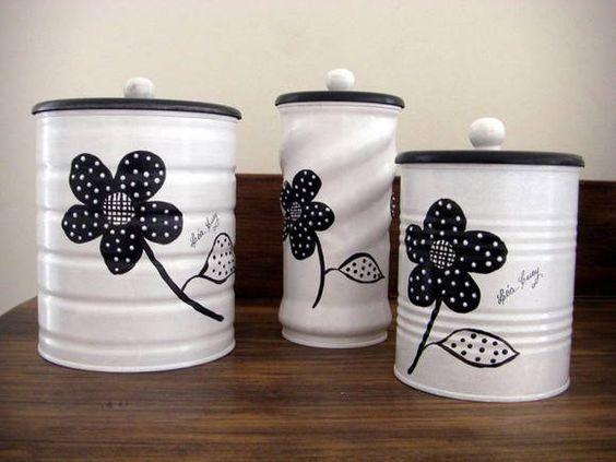 ideas para reciclar latas de conserva decorar tu casa es