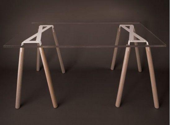 Trétaux X Type, design Arik Levy pour #RobbaEdition - #matea