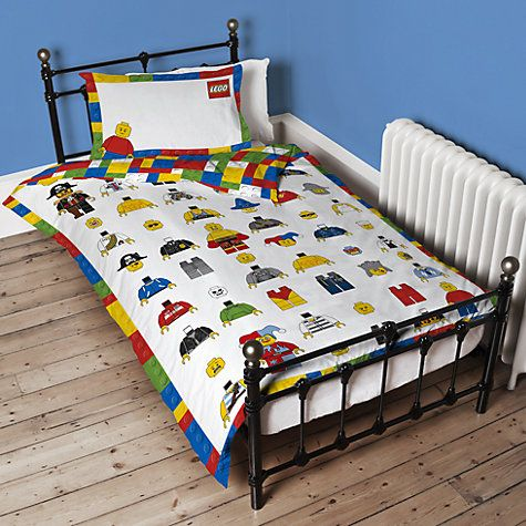 Lego Bedroom Ideas Uk buy lego single duvet cover and pillowcase set online at johnlewis