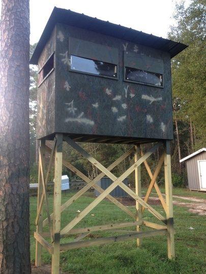 Deer hunting shoot house plans - House design plans