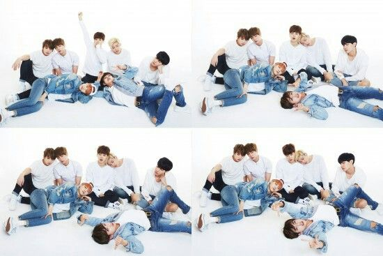 White background  BTS