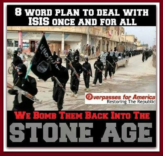 #NTB: Bomb Them Back Into The STONE AGE!