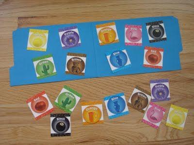 Color Matching File Folder Game « Mama Jenn {the blog}