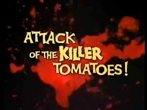http://www.pinterest.com/pin/7248049374025728/ Attack of the Killer Tomatoes Trailer