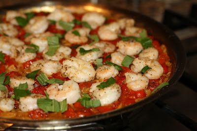 what's for dinner?: skillet shrimp and orzo... 35 minutes | what's fo...