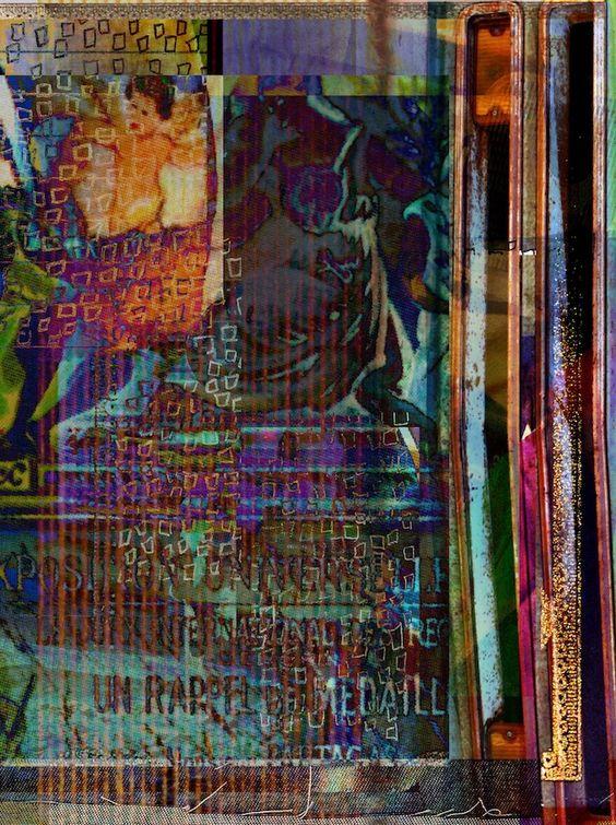 Mixed Media Artwork by Maia Ashkenazi