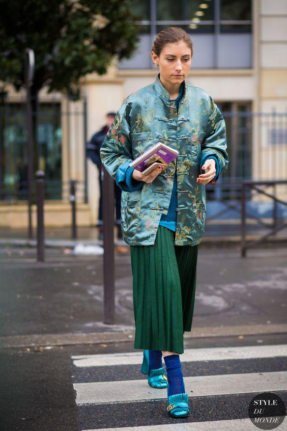 Rue Jenny Walton Street Style Fashion Streetsnaps par STYLEDUMONDE Street Style Fashion Photography: