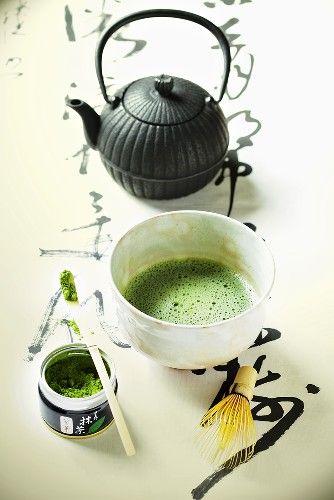 Japanese Matcha tea                                                                                                                                                      Más