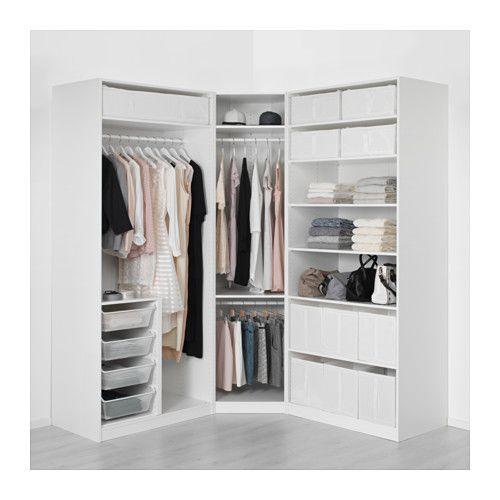 Kleiderschrank ikea  PAX Kleiderschrank - 196/196x60x236 cm - IKEA | interior ...