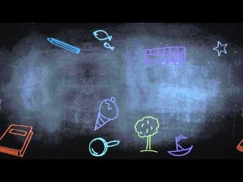 خلفية مونتاج سبوره Hd Youtube Kids Background Cool House Designs Chalk Drawings