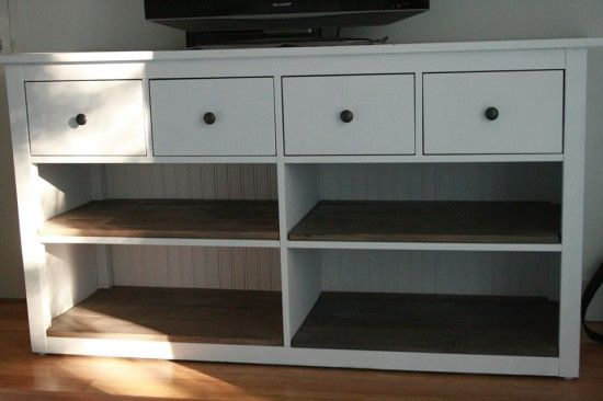 hemnes ikea dresser with stain and paint plus removed