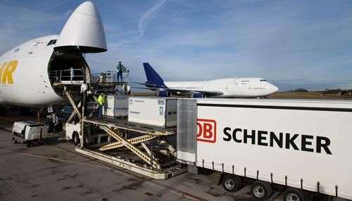 Air Cargo Operations - Atlas Air, DB Schenker