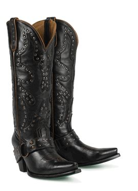 Lane Boots Stud Rocker in Black Cowgirl Boots | My Style ...