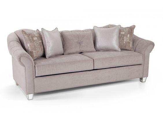 Transitional Sleeper Sofa