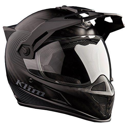 Klim Krios Karbon Adventure Helmet Ece Dot Md Stealth Mat Https Www Amazon Com Dp B01hh5x624 Ref Cm Sw R Pi Dp Dual Sport Helmet Cool Bike Helmets Helmet