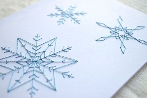 Embroidered Cards by Koto Designs: