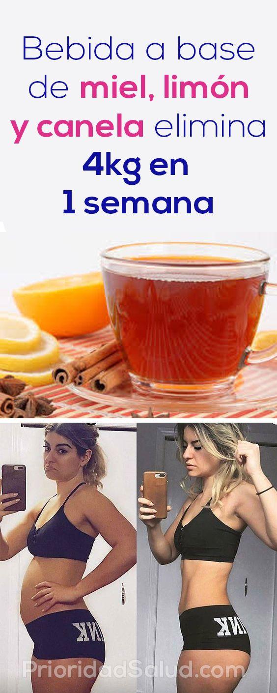 agua limon y miel para adelgazar