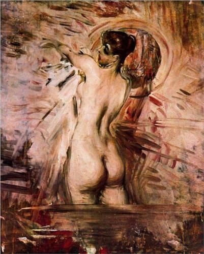 In the Bath - Giovanni Boldini