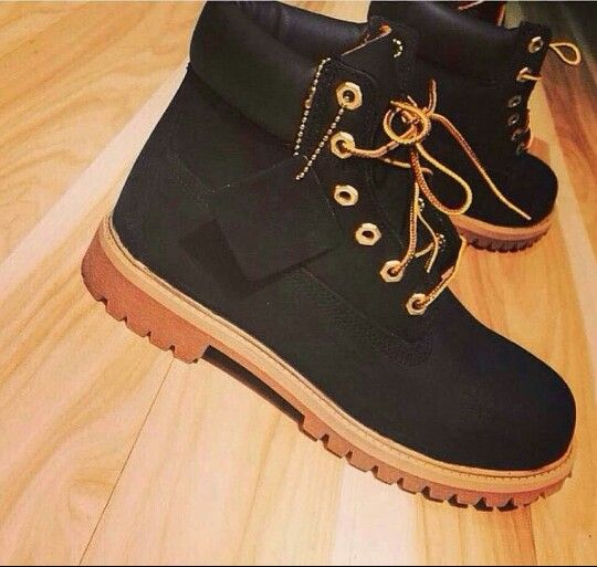 #timberland #boots #timbs #black #construction #fashion